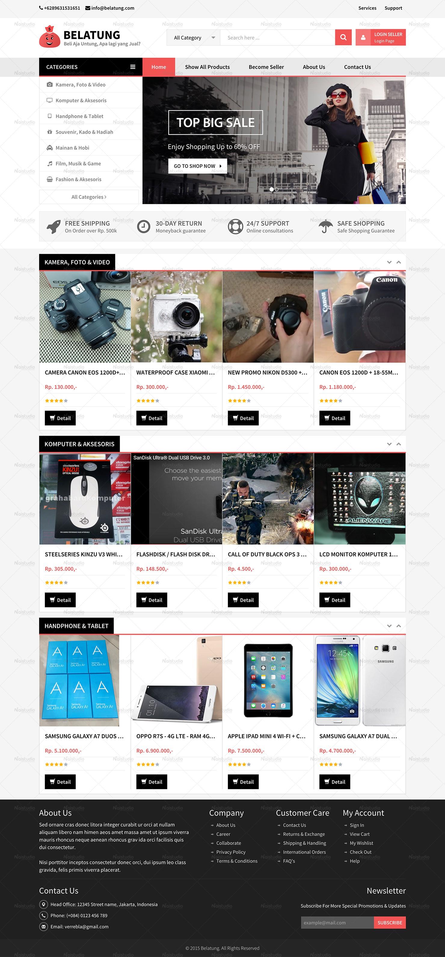 BELATUNG - Online Shop