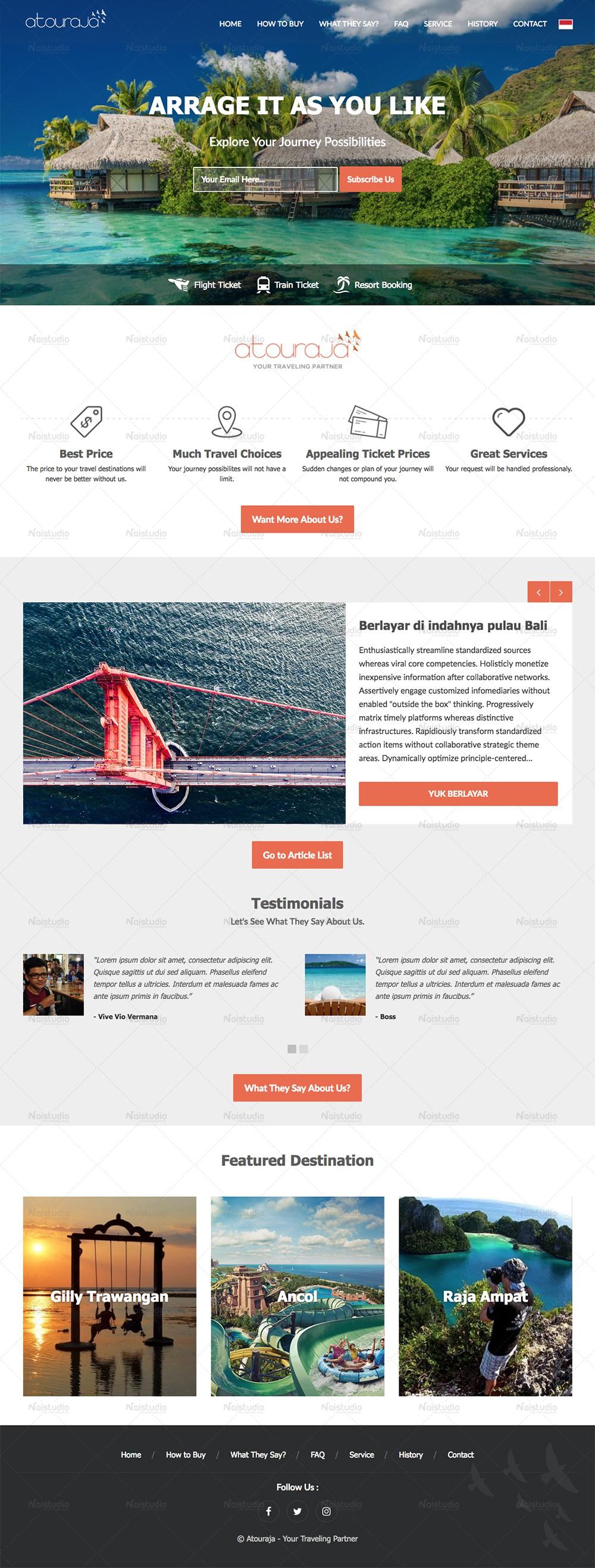 Atouraja - Your Travelling Partner