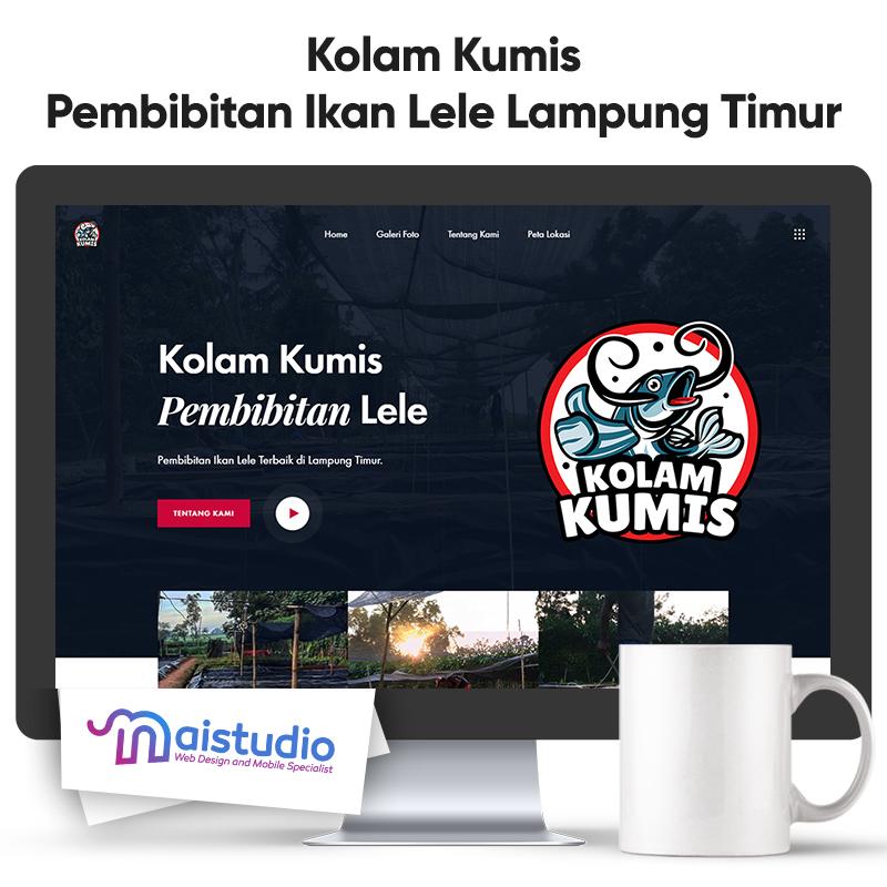 Website Kolam Kumis Pembibitan Ikan Lele Lampung Timur