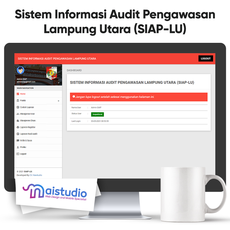 Sistem Informasi Audit Pengawasan Lampung Utara (SIAP-LU)