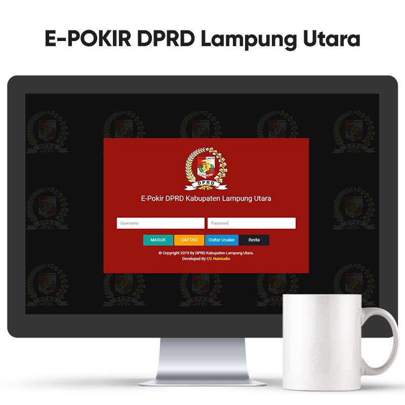 E-Pokir DPRD Kabupaten Lampung Utara