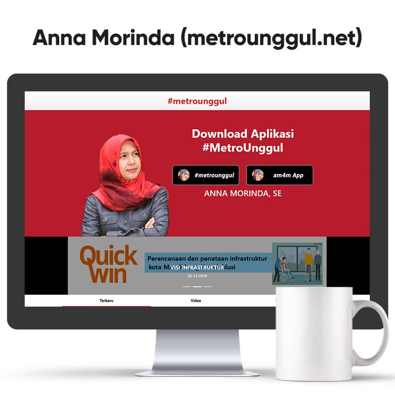 Sedulur Anna Morinda, S.E (metrounggul.net)